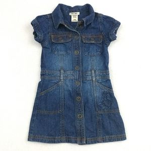 Cherokee Denim Jean Dress Size 24 Months